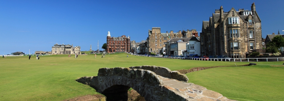 St Andrews, Carnoustie & Gleneagles golf packages