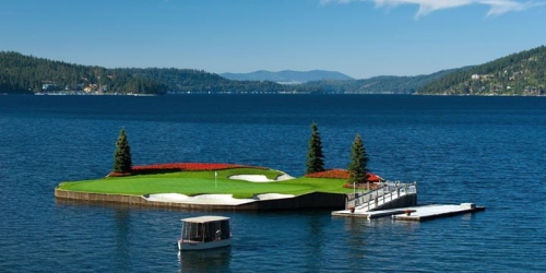 The Coeur dAlene Golf Resort golf packages