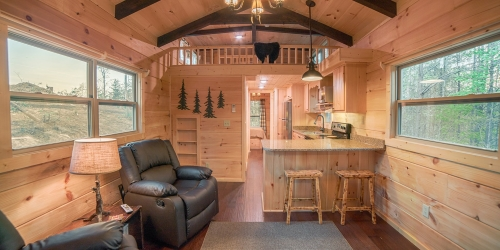 End of the Road Cabin Rentals golf packages
