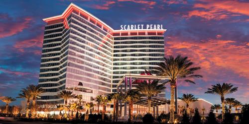 Scarlet Pearl Casino Resort  golf packages
